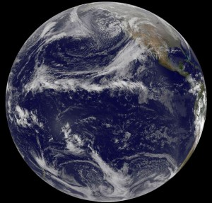 NOAA satellite photo from 12/22 shows the world keeps turning: no end in sight!
