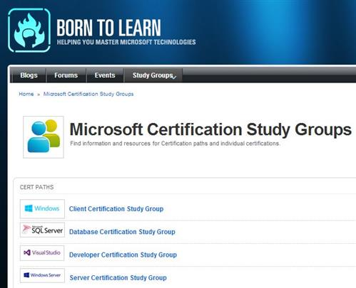 Four new silos on a new tab for study groups on the Born to Learn pages!