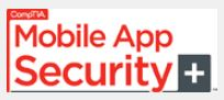 As of last week, Mobile App Security+ is up and running.