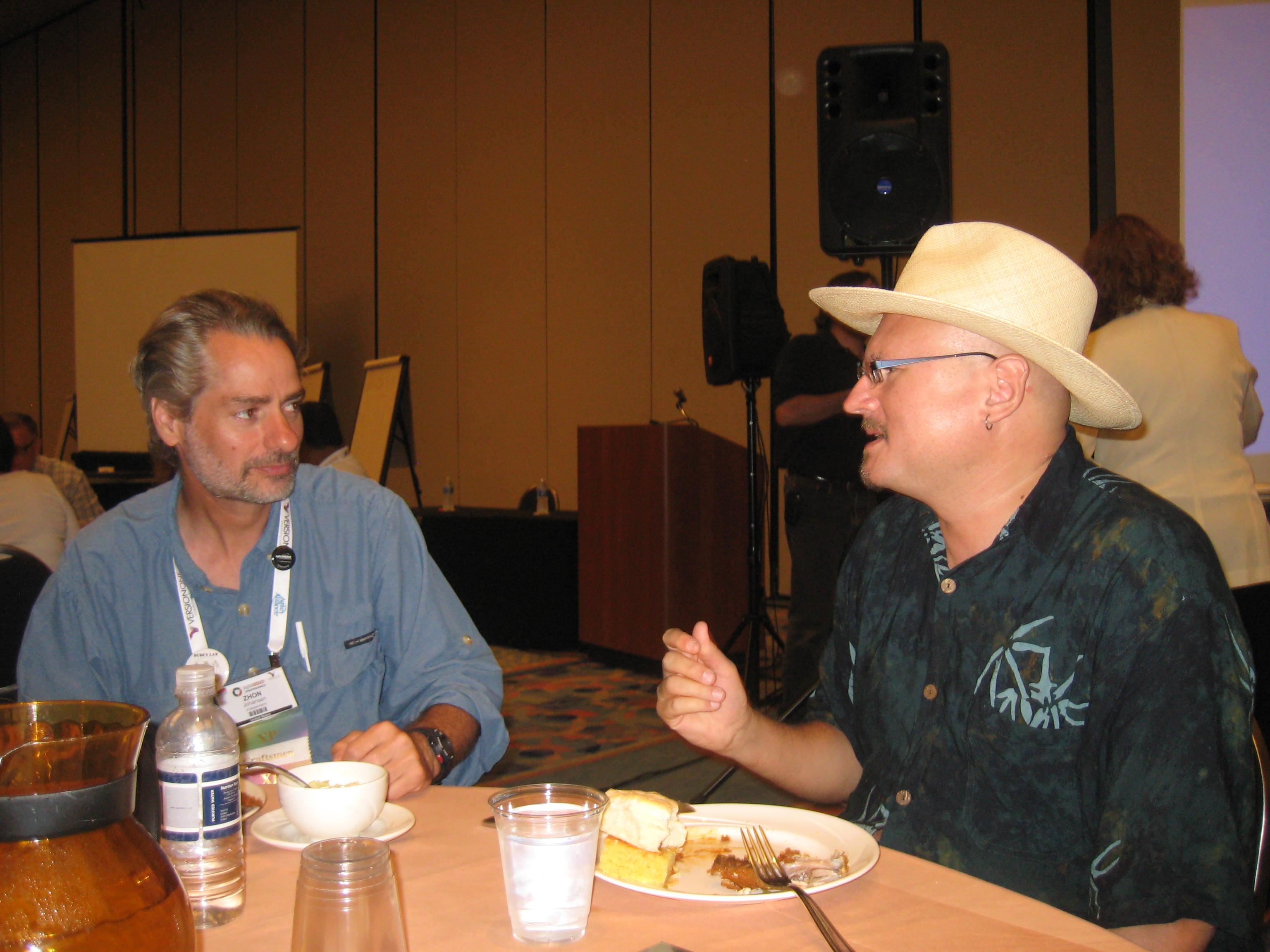 Zhon Johansen and Brian Marick