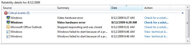 Outlook goes south, and a .sys file has ACL issues.