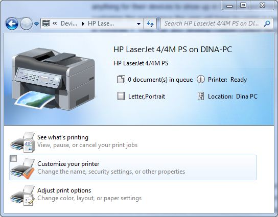Device Stage for the HP LaserJet 4/4M