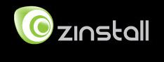 The Zinstall logo shows wheels within wheels