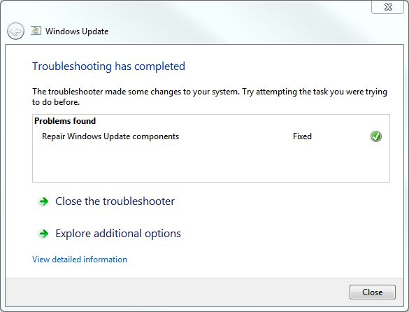 This popped up on every single Windows 7 machine on which I installed SP1