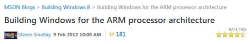 Windows for ARM explored and explained