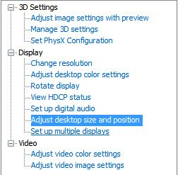 By adjusting the scan to less than maximum you create room for edge detection