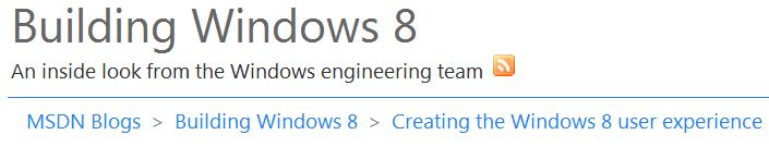 Another Windows 8 UI discussion