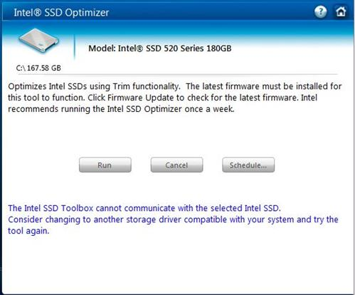 The SSD toolbox can't work closely enough with the Marvell 9128 to support advanced optimization and management features.