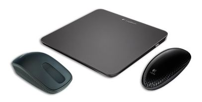Left to right: Zone Touch Mouse T400, Touchpad T650, Touch Mouse T620.