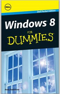 This mini-edition comes from Andy Rathbone, the author for all Windows Dummies titles back to the very first one.