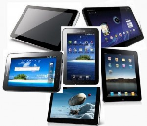 Tablets, tablets everywhere, but nothing just right for me just yet.