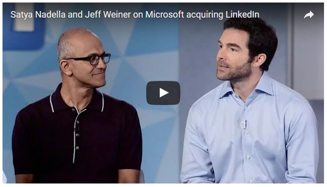 MS Buys LinkedIn