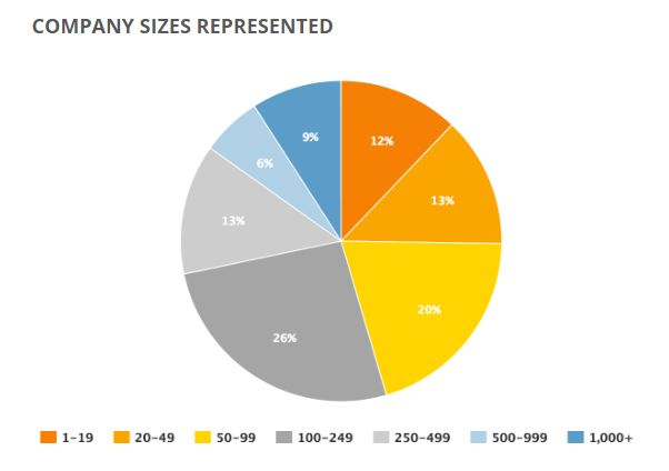 Windows 10 SMB story: respondent company size