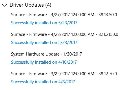 Surface Pro Firmware Gets Previews