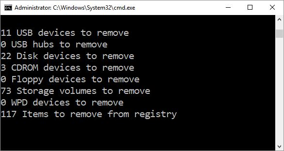 DriveCleanup Clears Stale Win10 Storage Metadata