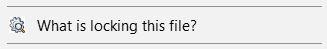 LockHunter Reports Locked Windows Files