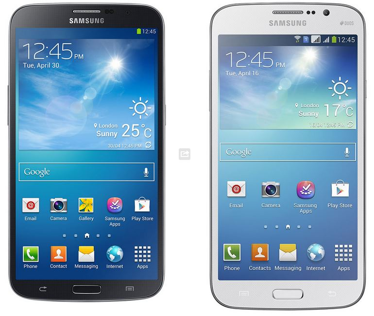 Samsung Galaxy Mega 5 and 6