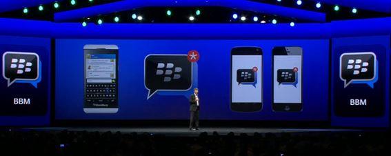 BBM iOS Android