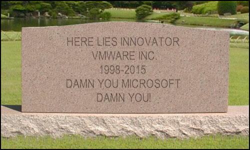 VMware Potential Tombstone