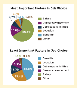 Factors in job choice, job choice factors