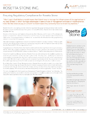 rosetta stone case study Rosetta stone case study rosetta stone was founded in 1992 with the goal of  accelerating language learning through the use of interactive.