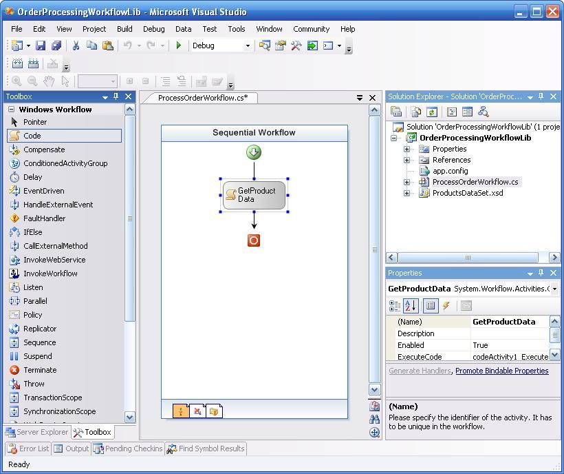 windows workflow foundation thesis