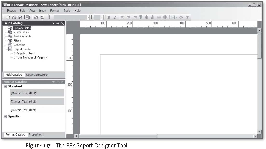 SAP BEx Tools: The BEx Report Designer Tool