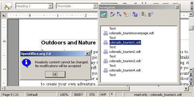 how to make a double sided document in open office