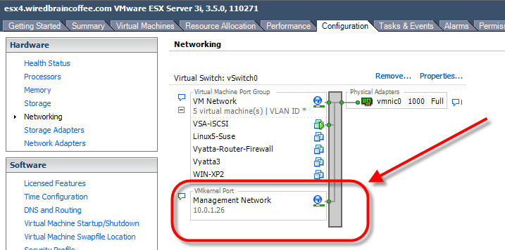 Connecting Vmware Esx To Lefthand S Virtual Storage Appliance