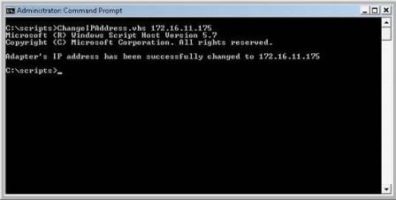 cscript output command