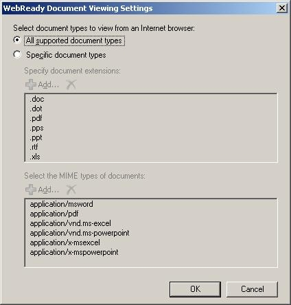 Exchange Server OWA WebReady Document View