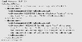 Sample error report from bulk decomp
