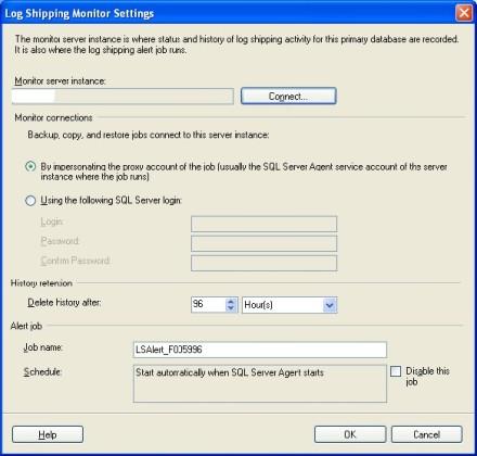 Create a monitor server