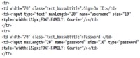 Underlying HTML and DOM