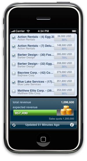 Oracle iPhone app