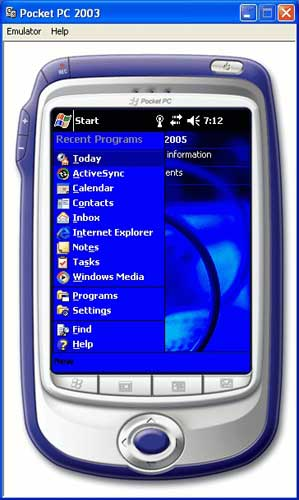 Pocket PC 2003