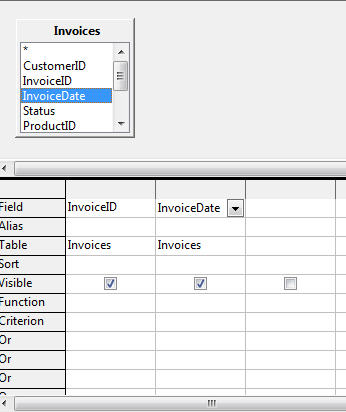 OpenOffice query add table