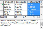 OpenOffice Design view SQL query