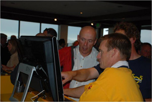 SAP exec John Schwarz helps 505 sailors use the Xcelsius dashboard