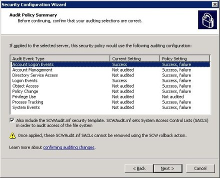 Exchange 2007 Edge Transport Server Audit Policy Summary for security
