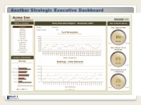 Strategic dashboard example