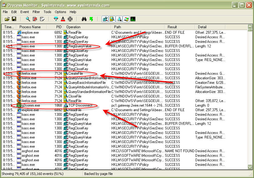 Sysinternals' TCPView 