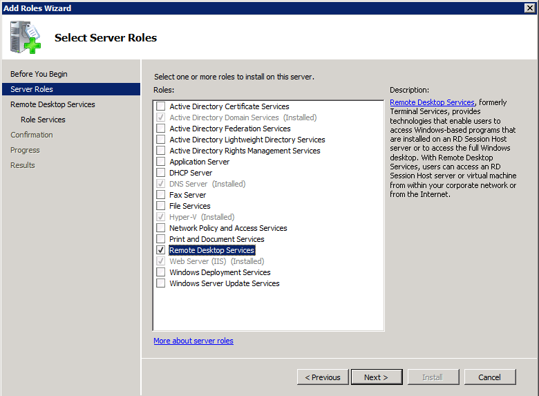 How to set up remote desktop services on windows 2008 r2 ccuart Images
