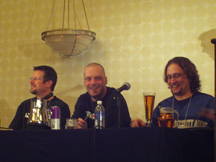 L0pht panel members at SOURCE Boston