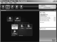 Network Magic displaying connected devices