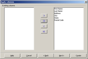 OpenOffice wizard query