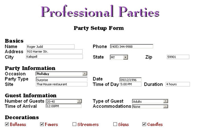 Skip the input fields -- Make life easier with the Writer XML Forms