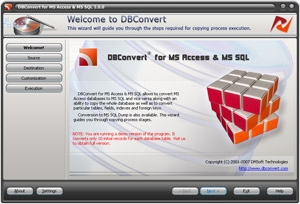 DBConvert for Access & MS SQL