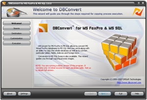 DBConvert for FoxPro and MS SQL
