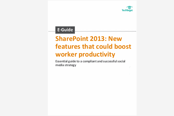 sharepoint 2013 end user guide